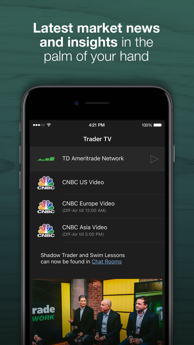 thinkorswim: Buy  Sell  Trade  App for iPhone - Free