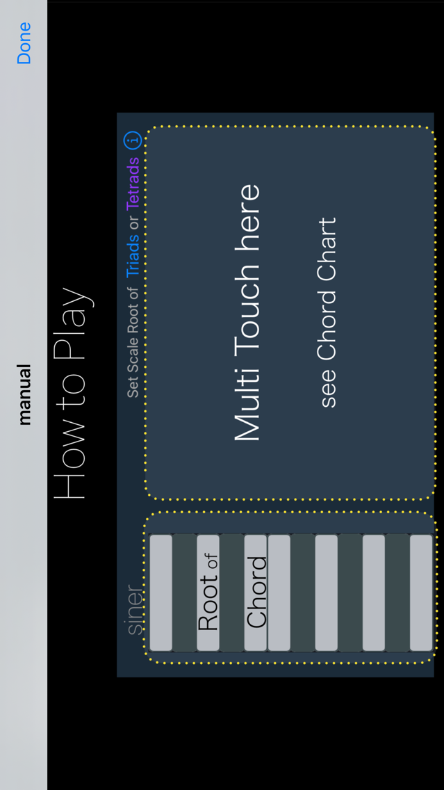 siner - touch chord player App for iPhone - Free Download siner