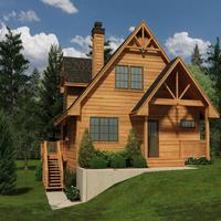 Mountain House Plans Details