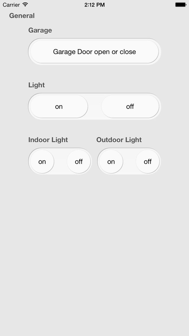 iControl Web: HTTP Remote Control for Home Automation with
