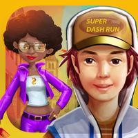 Super Dash Run - Endless Highway Running Game