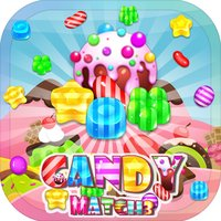 Candies Sweet Game - Match & Puzzle Free