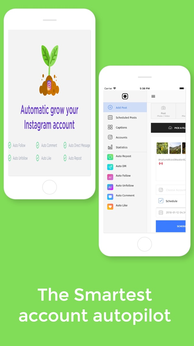 Autogram - Tool for Instagram App for iPhone - Free Download