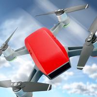 Drone  attack simulator gunship : shooting games