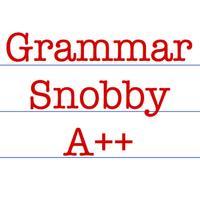 Grammar Snobby