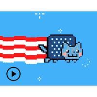 National Flag And Nyan Cat
