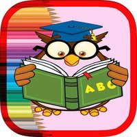 ABC alphabet Coloring book - Learning game