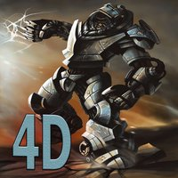 Robot Rage Desert Chopper - Whirly Blade Bot Fire Attack 2016