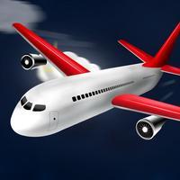 Thunderstorm flight training simulator for pilots