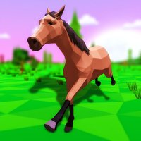 Horse Sims Forest Adventure