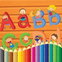ABC Coloring Alphabet Learn Paint for Toddler Kids