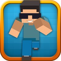 Blocky Runner Bro 3D - Fun Run