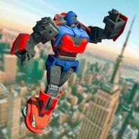 Grand Futuristic Robot Battle 3D