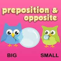 Preposition & Opposite Words Vocabulary For Kids