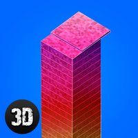 Pixel Tower Builder 3D Full