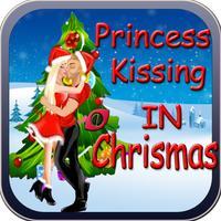 Princess Kissing in Christmas Festival