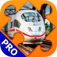 Train Jigsaw Puzzle Games. Premium