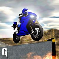 Heavy Bike stunts Race Simulator 3D Game