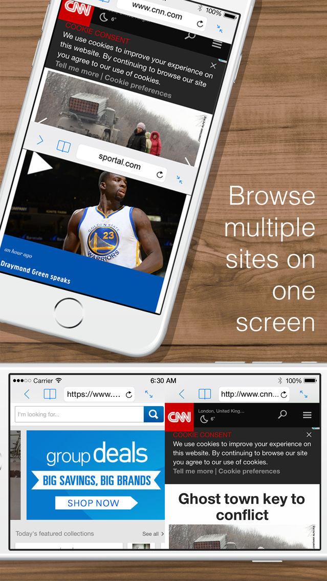 Split Web Browser Free: Fast Multitasking and Full Screen