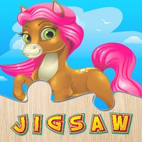 Horse Puzzle Games Free - Pony Jigsaw Puzzles for Kids and Toddler - Preschool Learning Games