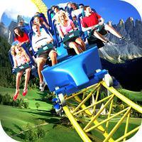 Roller Coaster Fun Land : Crazy Ride Adventure 3D