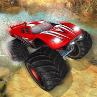 Super Monster Truck Racing: Destruction Stunt Game