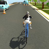 Mountain Bike Road Driving Sim Game 2017
