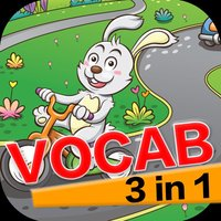 Learning English Vocabulary 3 in 1 Super Fun Games