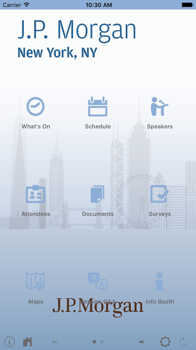 JPMorgan Chase & Co  Events App for iPhone - Free Download JPMorgan