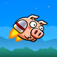 Flap Pig Flying