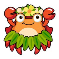 Chubby Crab - Cute stickers for iMessage