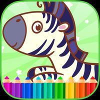 Zebra Games Coloring Books