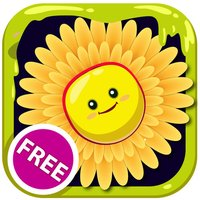Free Color Book (Flower), Coloring Pages & Fun Educational Learning Games For Kids!