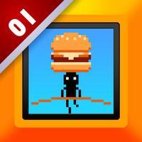 Hamburger Trapeze Act