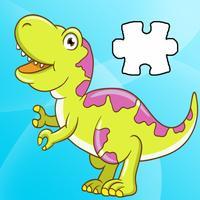 Dinosaur Jigsaw Puzzles Activities For Preschool
