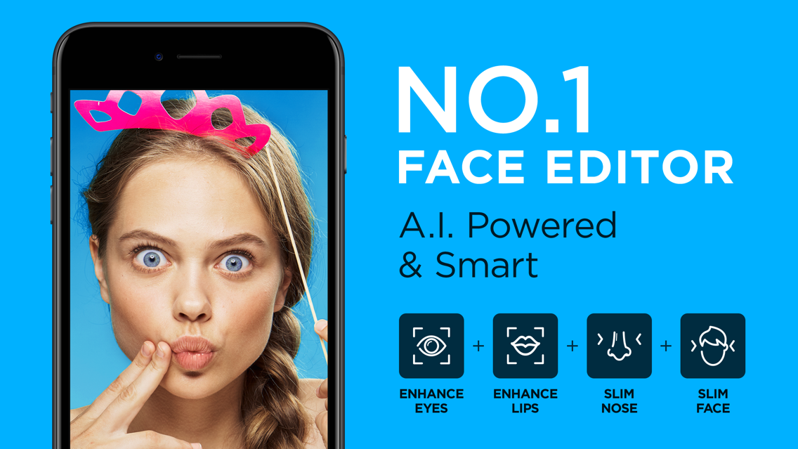 Facelab - Face & Body Editor App for iPhone - Free Download