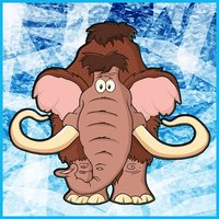 Finding Ice Age Animals In The Matching Cute Cartoon Puzzle Cards Game