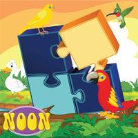 لعبة تركيب الطيور - براعم صغار الروضه
