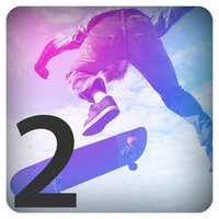 3D SkateBoard Half-Pipe Juggle Trick Pocket Game 2