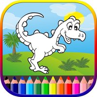 Dinosaur Coloring Pages Games For Kids & Toddlers