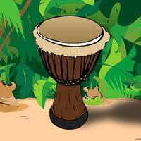 Kids Drums & Monkey Dance