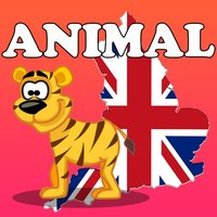 ENGLISH ANIMAL VOCABULARY AND MATCH GAME FOR KIDS