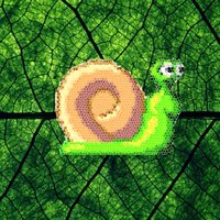 Green Leaf Snail Crawler: Extreme Wall Dodging