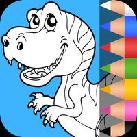 Dino Coloring Adventures Book