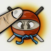 Angry Ninja Smasher HD Free - The Best Bone Crusher Game Challenge for iPhone & iPad