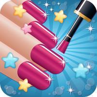 Nail Salon Beautiful - girls makeup makeover and games dressup nails art & nail polish