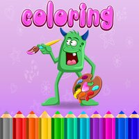 Coloring Book Pages Kids Learn Paint for Preschool