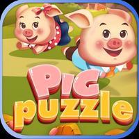 Pigs Puzzle Match