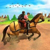 Public Horse Transport Sim 3D