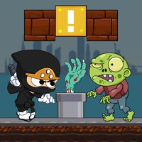 Super Ninja vs. Zombie - Popular Free Run Games